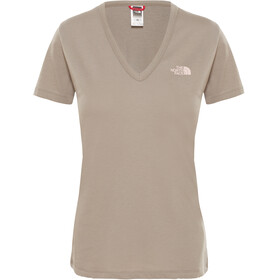 The North Face Simple Dome Maglietta a maniche corte Donna grigio